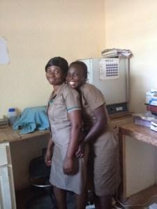 Clinic staff